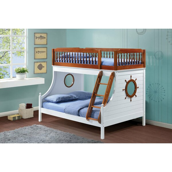 Ronna Twin over Full Bunk Bed by Harriet Bee