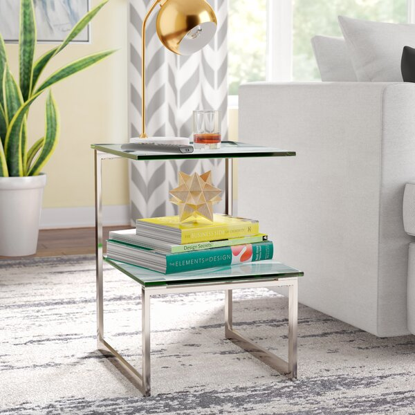 Arias End Table By Wade Logan