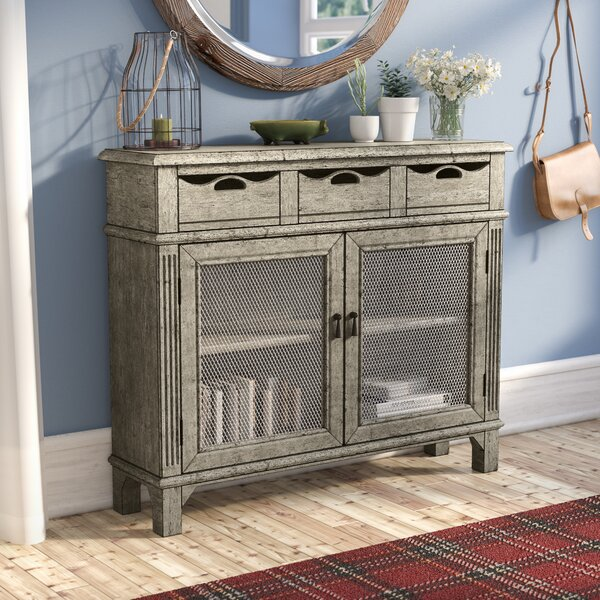Sumlin 3 Drawer and 2 Door Cabinet by August Grove