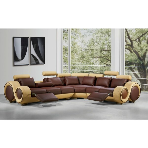 Luthersville Symmetrical Reclining Sectional by Orren Ellis