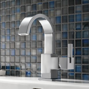 Buy clear Vero Single Hole Bathroom Faucet with Metal Pop Up Drain ByDelta