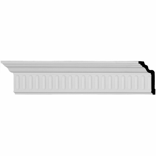 Viceroy 4 H x 96 W x 2 1/4 D Crown Molding by Ekena Millwork
