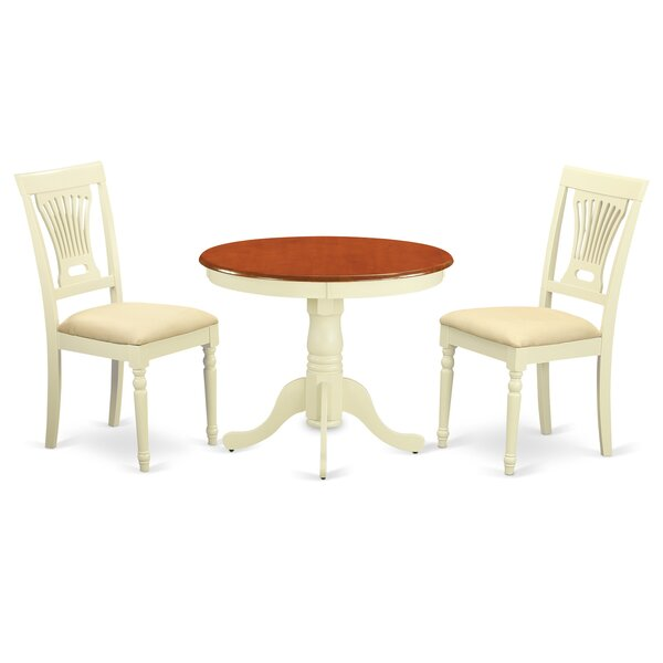 Artin 3 Piece Dining Set By Andover Mills 2019 Coupon