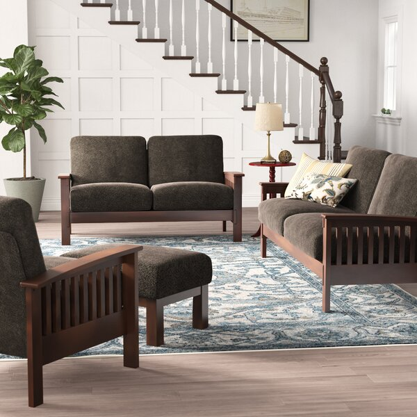 Encinal 4 Piece Living Room Set by Three Posts Three Posts