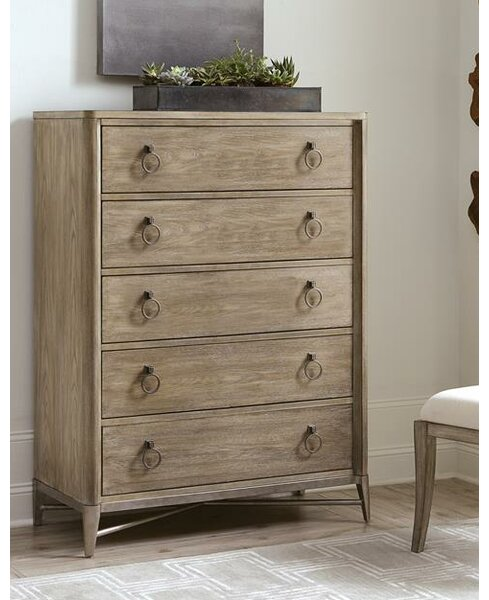 Almazan 5 Drawer Chest by One Allium Way