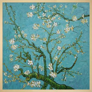 Branches of an Almond Tree by Vincent Van Gogh Framed Painting by Wildon Home ®