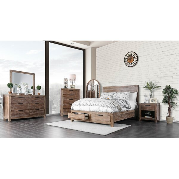Perez Panel Configurable Bedroom Set by Union Rustic