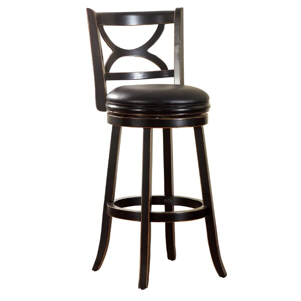 Caramen 30.5 Swivel Bar Stool by Hokku Designs