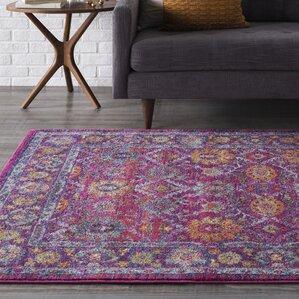 hillsby pinkpurple area rug