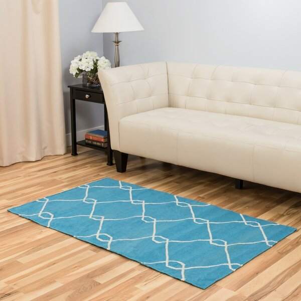 Turquoise Area Rug by Harbormill