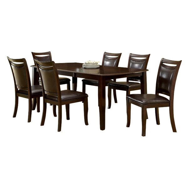 Carnadine 7 Piece Extendable Dining Set by Hokku Designs