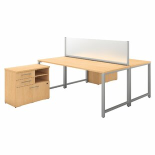 400 Series 5 Piece Desk Office Suite By Bush Business Furniture