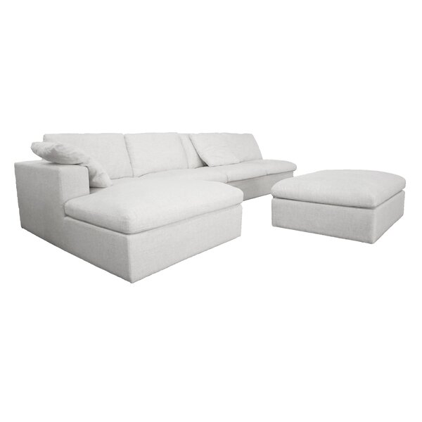 Arseni Modular Sectional with Ottoman by Wrought Studio
