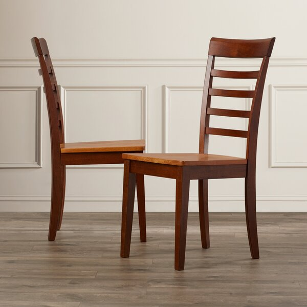 Craigy Hall Solid Wood Dining Chair (Set of 2) by Alcott Hill