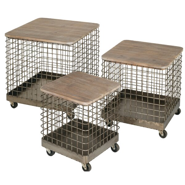 Nathaly 3 Piece Nesting Tables by Gracie Oaks