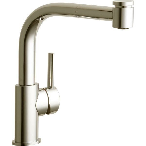 Mystic Pull Out Single Handle Kitchen Faucet by Elkay