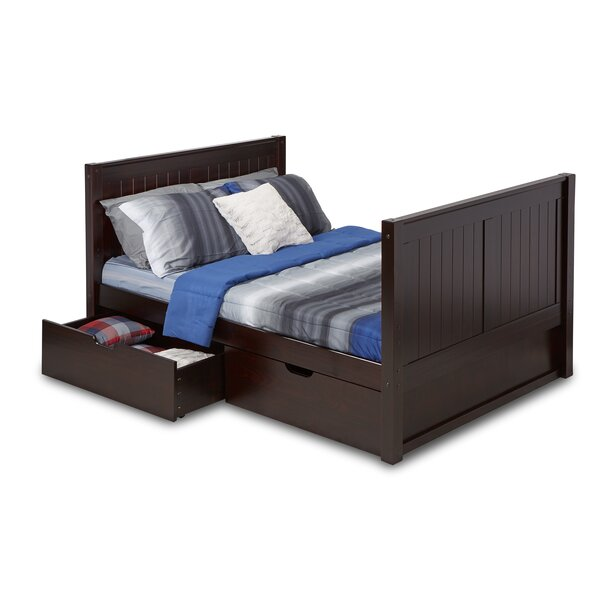 Rabon Full Platform Bed with Drawers by Harriet Bee