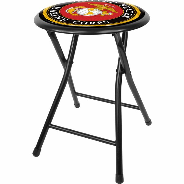 United States Marine Corps 18 Bar Stool by Trademark Global