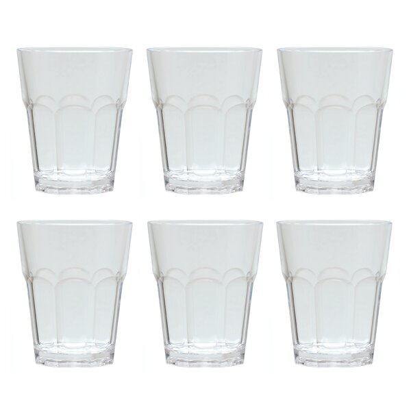 Mcandrew 12 oz. Acrylic Every Day Glasses (Set of 6) by Ebern Designs