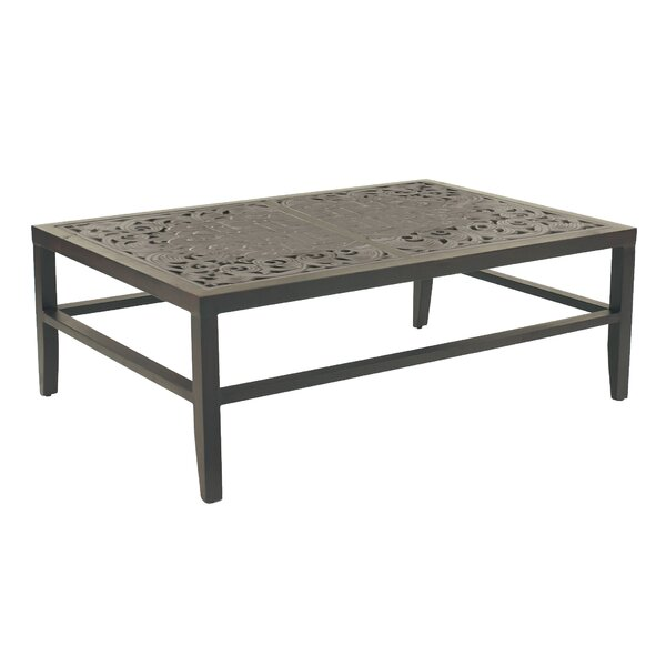 Calliope Classical Aluminum Coffee Table by Leona
