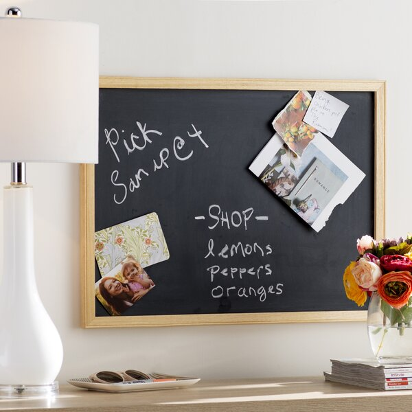 Wayfair Basics Wall Mounted Chalkboard by Wayfair Basics™