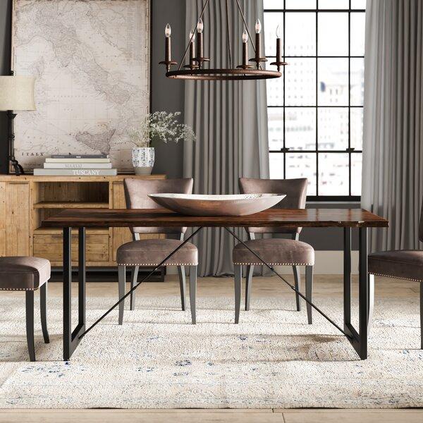 Nesbit Industrial Dining Table by Loon Peak