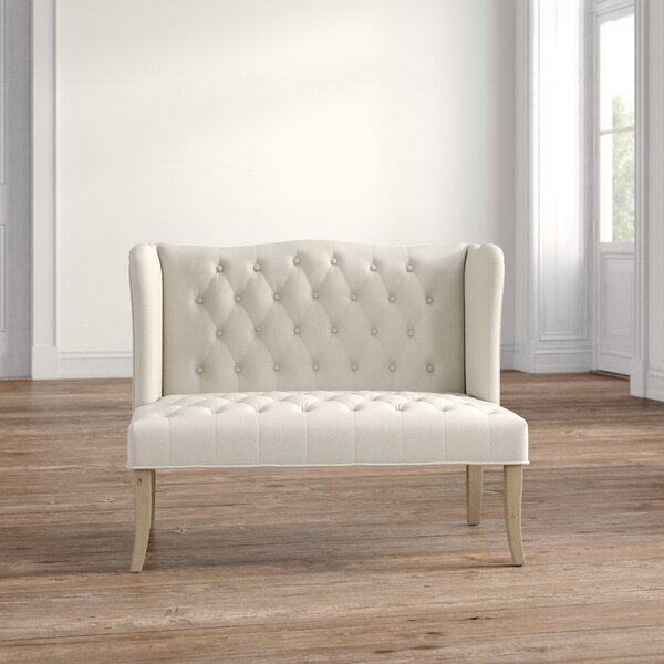 Review Jaylee Adroitly Elevated Fabric Loveseat