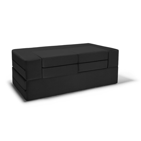 Eugene Modular Loveseat & Ottoman Sleeper by Zipco