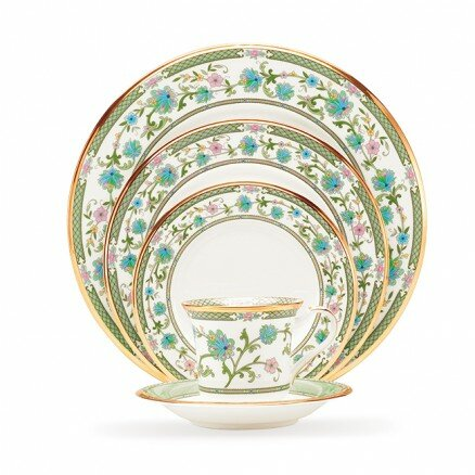 Yoshino Bone China 5 Piece Completer Set, Service for 1 by Noritake