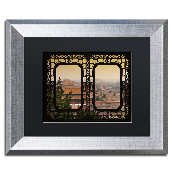 Beijing by Philippe Hugonnard Framed Photographic Print by Trademark Fine Art
