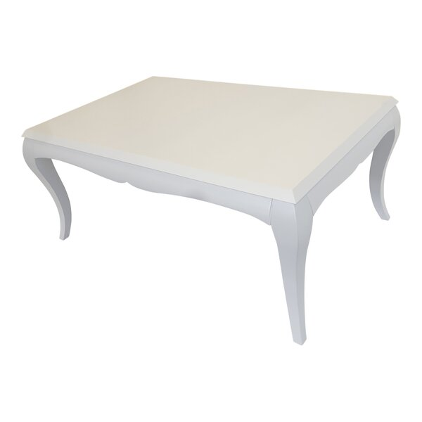 Review Red Barrel Studio Modern Coffee Table, White