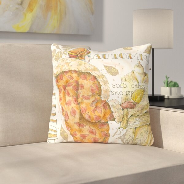 Autumn Fall Throw Pillow by East Urban Home