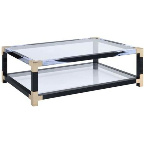 Sizemore Rectangular Metal Coffee Table By Mercer41