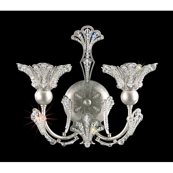 Rivendell 2-Light Armed Sconce by Schonbek