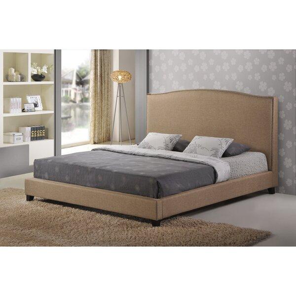 Reasor Upholstered Platform Bed by Charlton Home