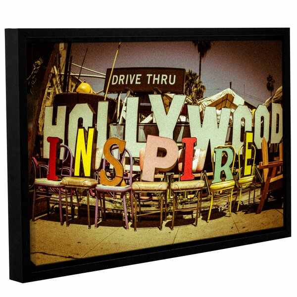 Hollywood Inspire Framed Photographic Print by Latitude Run