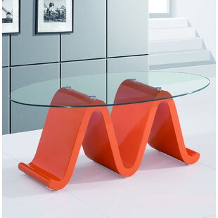 The Wave Elegant Coffee Table Fab Glass and Mirror