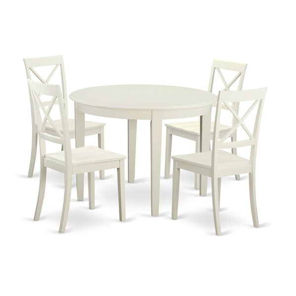 Hillhouse 5 Piece Dining Set By Red Barrel Studio #2
