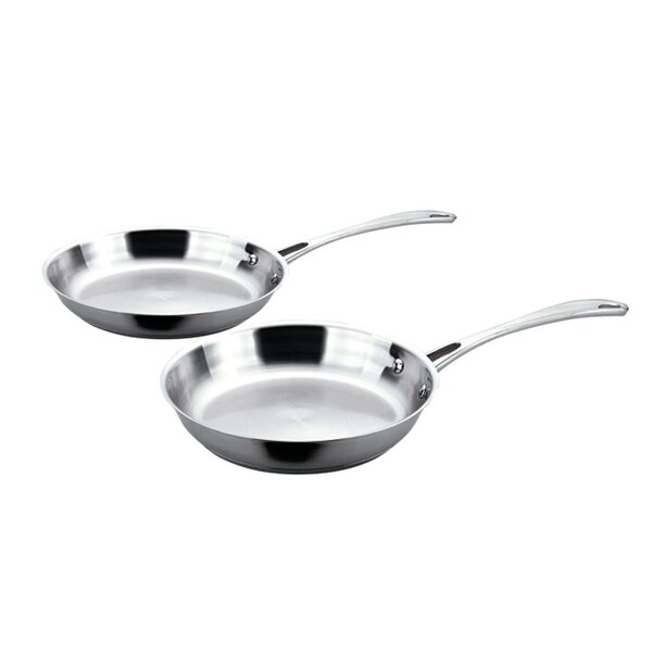 EarthChef 2-Piece Copper-Core Frying Pan Set by BergHOFF International