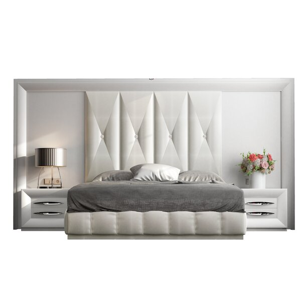 Jerri Standard 4 Piece Bedroom Set By Everly Quinn by Everly Quinn Best #1
