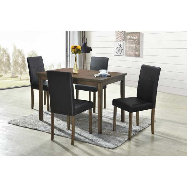 Sonya 5 Piece Dining Set by Andover Mills Andover Mills