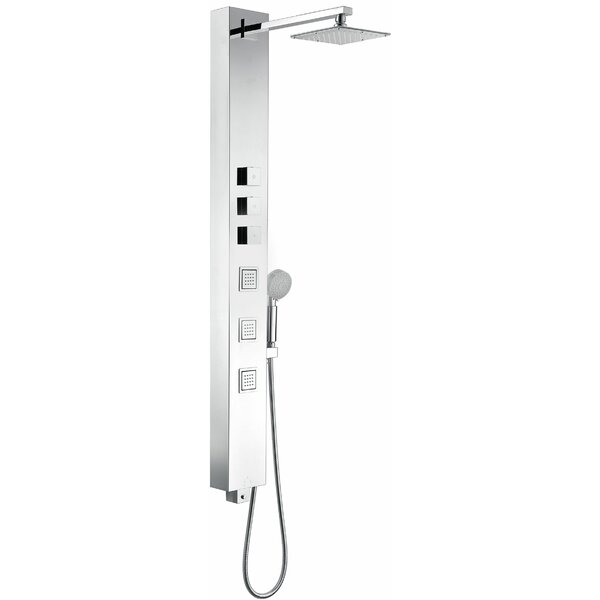 Lann Thermostatic Shower Panel System by ANZZI