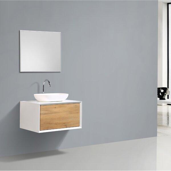 Grissett 30 Wall-Mounted Single Bathroom Vanity Set by Orren Ellis