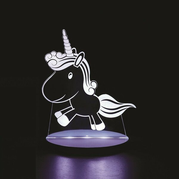 Unicorn Night Lights Insert by Tulio Dream Lights