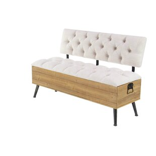 Affordable Price Sibo Traditional Tufted Upholstered Bench By 17 Stories