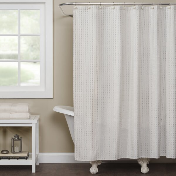 Grand Encampment Natural Shower Curtain by Laurel Foundry Modern Farmhouse