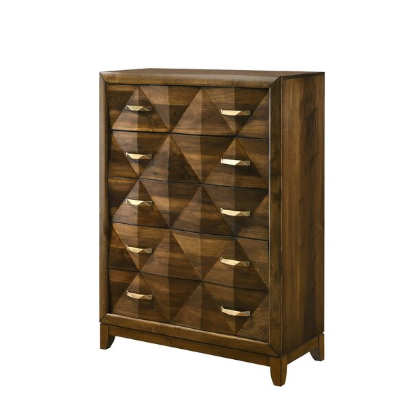 Haider 5 Drawer Chest by Brayden Studio