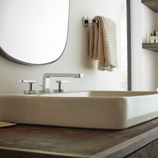 Vector Widespread Bathroom Faucet with Drain Assembly by Speakman Speakman