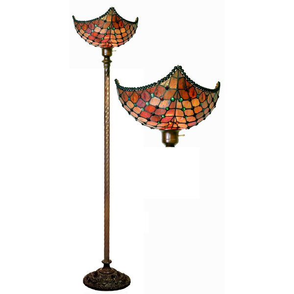 Beaded 72 Torchiere Floor Lamp by Warehouse of Tiffany