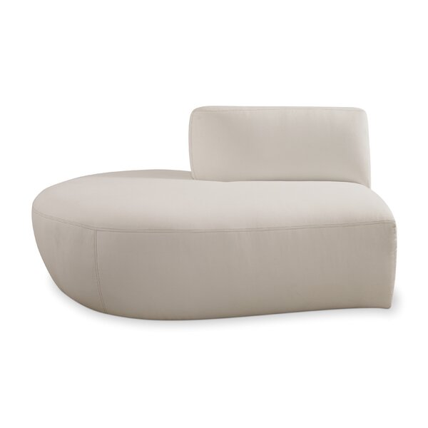 Fizz Left Armless Loveseat with Cushions by Seasonal Living